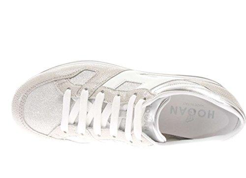 Hogan Donna Sneaker Hxw2830u352iji0906 H 283 Maxi 222 Argento