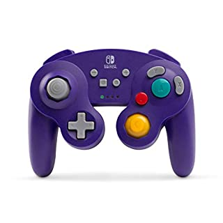 Wireless Controller for Nintendo Switch - GameCube Style: Purple (Nintendo Switch)