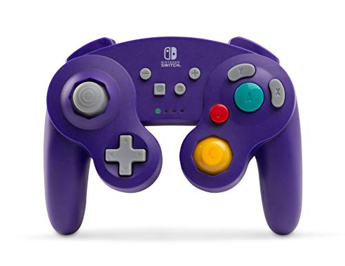 Mando Inalámbrico Gamecube, Color Morado (Nintendo Switch)