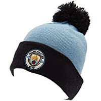 be2508e2d9a22 Manchester City FC Official Adults Unisex SN Ski Hat