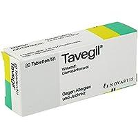 Tavegil Tabletten, 20 St. preisvergleich bei billige-tabletten.eu