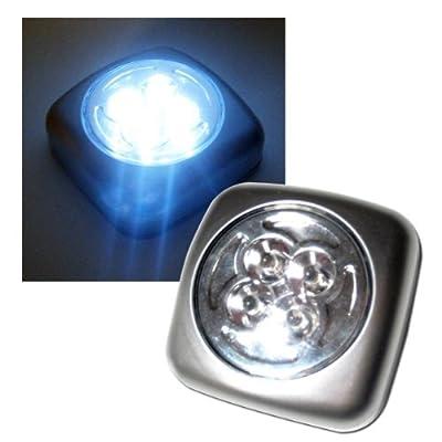 LED-Leuchte mit 4 LED McShine click-it matt-silber 538119 von Sonstige auf Lampenhans.de