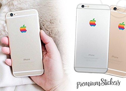 Produktbild Apple-Logo-Aufkleber,  2 Stück / MacBook Retro-Aufkleber / iPhone,  Special-Event-Design