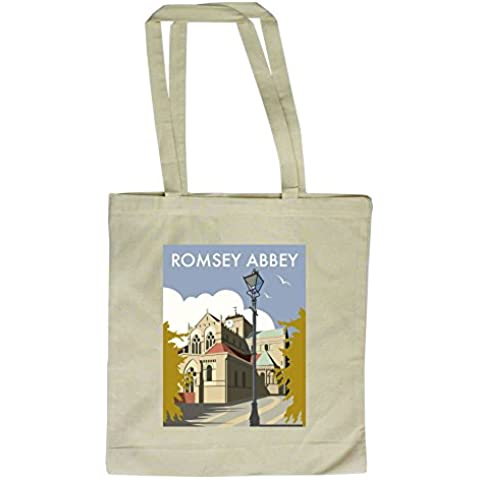 Dave Thompson Romsey Abbey 'Print Tote Bolsa, Multicolor