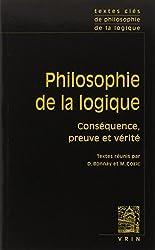 Textes clés de philosophie de la logique
