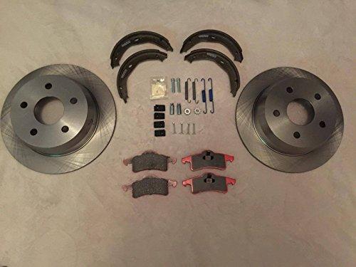 Carlson Nty Lpb dischi freno posteriore kit di riparazione per Jeep Grand Cherokee WJ 1999-2004Ceramic Pads