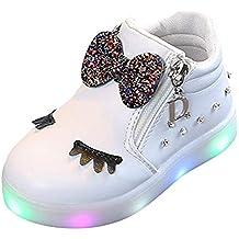 6d3b6eb33c8 Zapatos de bebé, ASHOP Niña Moda Casuales Zapatillas del Otoño Invierno  Deporte Antideslizante del Zapatos