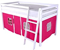 HLS Pink Tent for Midsleeper Cabin Bunk Bed …