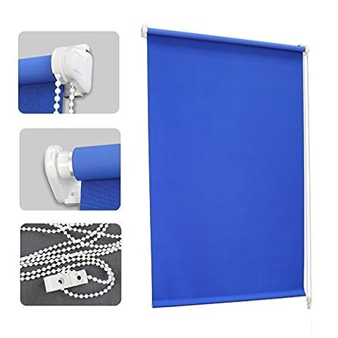 Store Bateau 120 Cm - Auralum® 60 x 120 cm Bleu Store