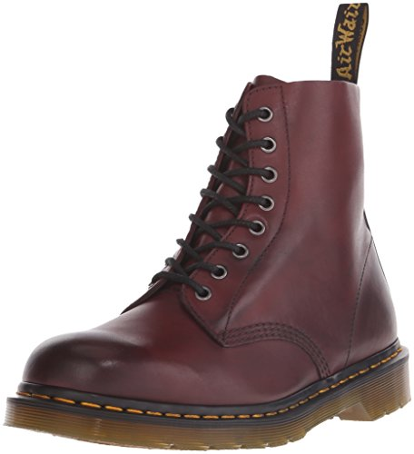 Dr. Martens Unisex Adults' Pascal Classic Boots, Red (Cherry Red), 4 UK