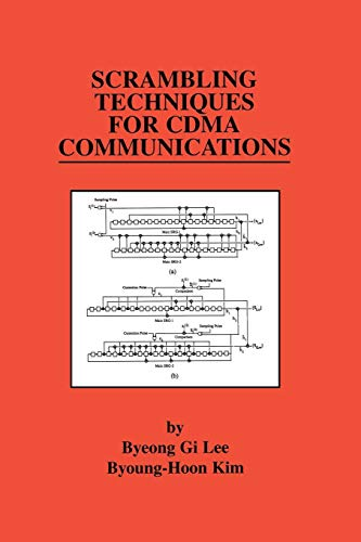 Scrambling Techniques for Cdma Communications (The Springer International Series in Engineering and Computer Science, Band 624) Cdma-serie