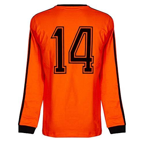 Cruyff Classics 1974 Holland L/S Retro Trikot - Orange - S
