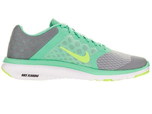 Nike Fs Lite Run 3 Laufschuh Wolf Grey/Ghst Grn/Grn Glw/Wht
