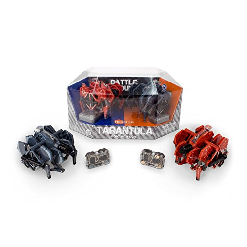 HEXBUG 409-5120 Battle Ground Tarantula Dual Pack, Actionfigur (Hex Bug Fernbedienung)