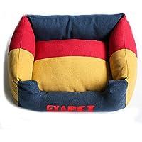 FLLH Sofa Cama para Mascotas Pet Kennel Gato y Perro Cuddle Cushion en Grandes Kennel Dog