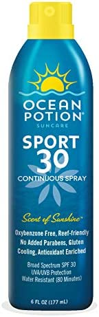 Ocean Potion Continuous Spray Sport SPF30, 177 ml