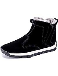 abf616251597 NASONBERG Herren High-Top Sneakers Wasserdichte Warm Gefütterte  Winterschuhe Stiefel für Männer ...