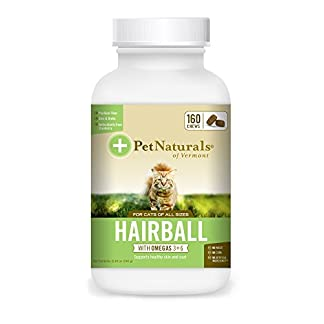 Pet Naturals® - Hairball, Daily Digestive, Skin and Coat Support for Cats, 160 Bite-Sized Chews (070031G.160) 16