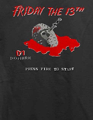 Friday The 13Th T-Shirt Grau