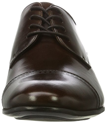 Kenneth Cole Mixed Bag, Oxfords Homme Marron (Brown 200)