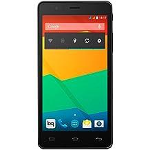 """BQ Aquaris E5 - Smartphone de 5"""" (4G, LTE WiFi 802.11 b/g/n Bluetooth 4.0 NFC HCE GPS, 1 GB de RAM, memoria interna de 16 GB) negro - (Reacondicionado Certificado por BQ)"""