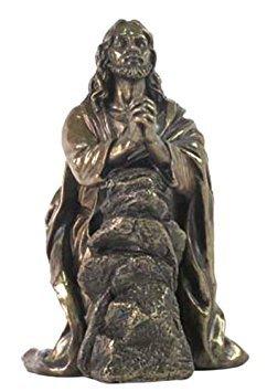 Jesús rezando en el jardín de getsemaní Estatua Escultura Figura decorativa