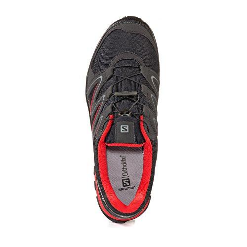 Salomon Chaussures Montantes Pour Homme noir/rouge