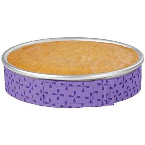 Bake Even Cake Strips Gürtel, Kuchenform Streifen Backen auch feucht Level Kuchen Backen Werkzeug Backen Backen Backform Backblech Schutz Gurt Küche Werkzeug Backhilfe Free Size 1 Pc