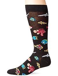 K. Bell Socks Men's Exotic Fish Crew