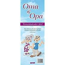 Streifenkalender Oma & Opa 2017