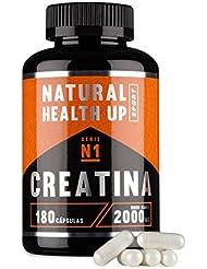 Creatina monohidratada para aumentar la masa muscular y el rendimiento deportivo - Suplemento deportivo de creatina