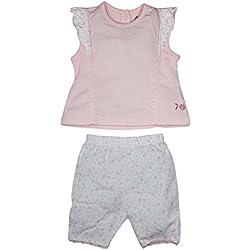 FS Miniklub Baby Girls' Clothing Set (Pink & White, 0 - 3 Months)