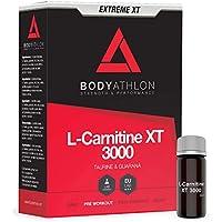 Bodyathlon L-Carnitina Líquida 3000 Extreme XT - Con Taurina y Guaraná - Suplemento Pre