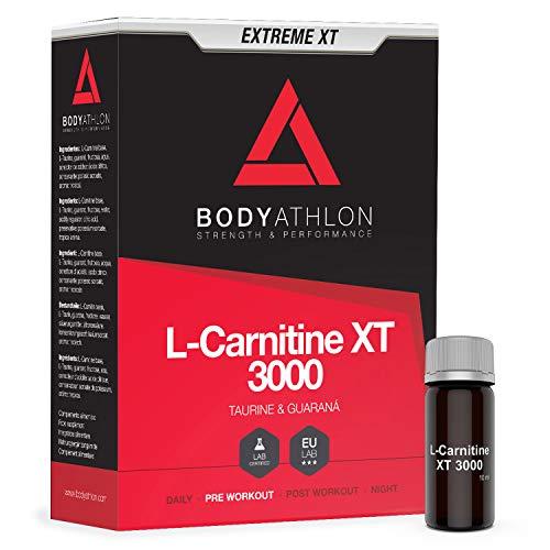 Bodyathlon L-Carnitina Líquida 3000 Extreme XT - Con Taurina y Guaran