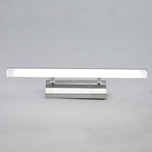 Zhma 6w luce bianco lampada bagno specchio da muro parete, led bagno mobile, a specchio da bagno luci specchio semplice e moderno, montaggio a parete, specchio luce, 85-265v 480lm, 40cm
