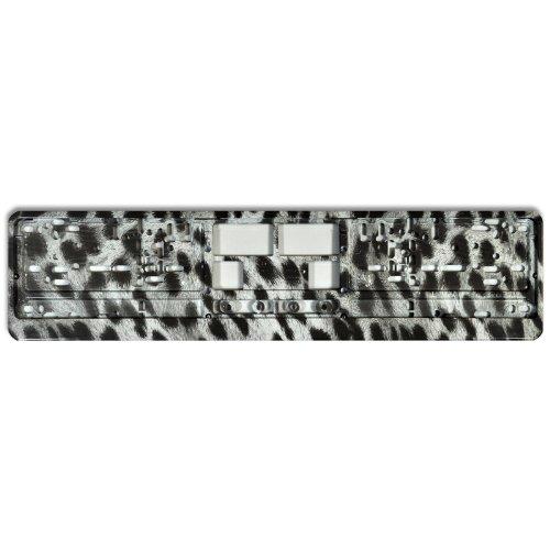 KFZ Kennzeichenhalter Design Nummernschildhalter (Cool Cheetah - 40009)
