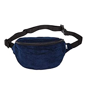 Bauchtasche, cord fein blau, Hipbag, Umhängetasche, fanny pack, cross bag