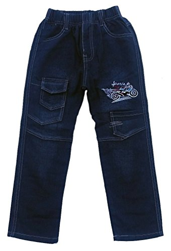 Bequeme Jungen Jeans mit rundum Gummizug, Gr. 92/98, J5.2e