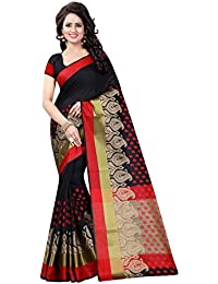 SATYAM WEAVES WOMEN'S ETHNIC WEAR COTTON BLEND SAREE. (ANUSHKA)