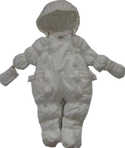 Minbanda-Schneeanzug creme BABY-Schneeoverall 3D713 Baby-Mädchen-62