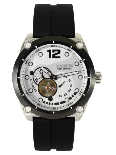 Lancaster TOP UP TIME Automatik Unisex Uhr weiß