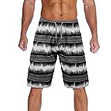 Snowbuff Nuovo Caldo Multi-Colore Multi-codice Maschile a Strisce Casual Shorts Spiaggia Pantaloni Teenager Mare Surf Nuoto Pantaloni Traspirante a Cinque Punti Sportivi Running Home Pantaloni