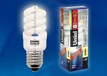 ampoule basse consommation 8W (ESL-S41-08/2700/E27)