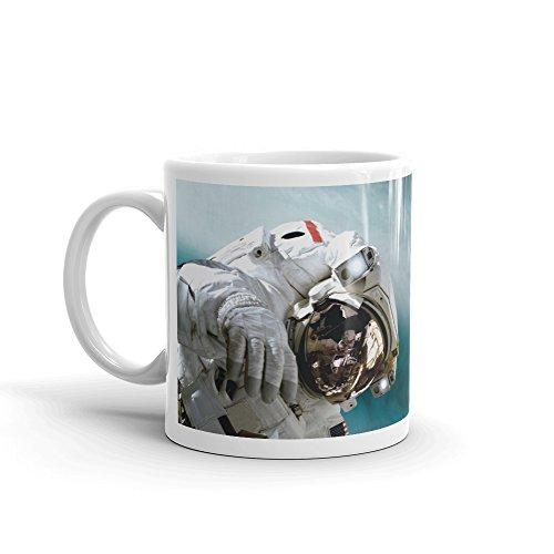 DV Mugs Ltd Space Station Astronaut Erde NASA Geschenk-Hohe Qualität Kaffee Tee 284ml # 8139 -