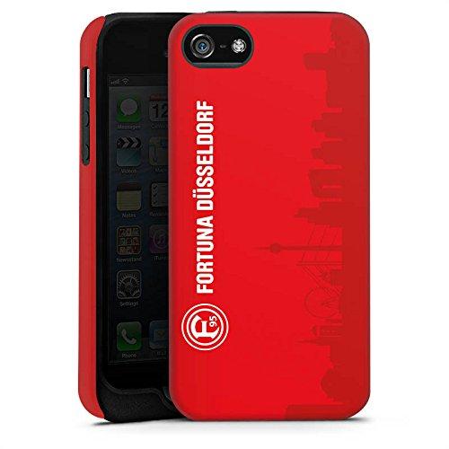 Apple iPhone 6s Hülle Case Handyhülle Fortuna Düsseldorf Fanartikel Fußball Tough Case matt