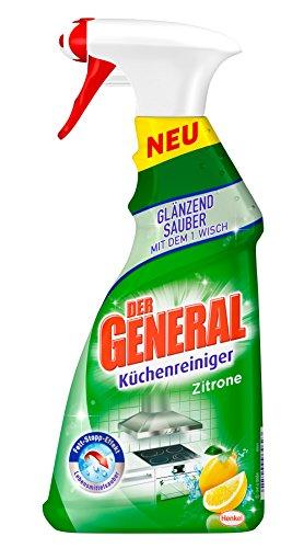 Der General Küchenreiniger Zitrone (5 x 500ml)