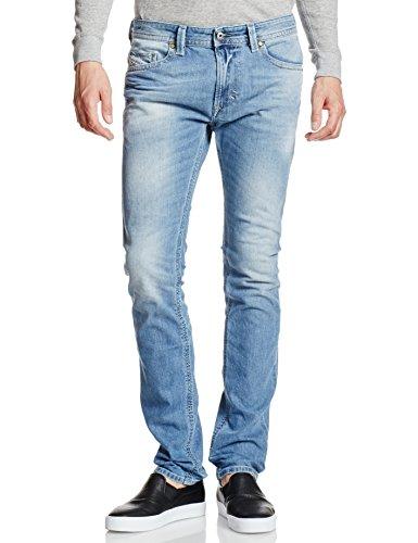 Diesel Herren Skinny Jeans Thavar Blau (Light Blue 0842H)