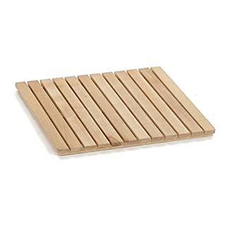 Arredamenti Italia Duschplattform Samoa 60, wasserabweisendes Holz - Farbe: Naturlich