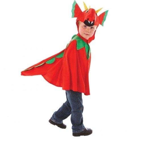 Halloween Tails Dragon Kostüm (Friendly Dragon Boys Halloween Book Week Boys Girls Fancy Dress Costume Ages 3 -5)