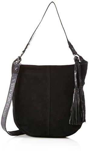 s.Oliver (Bags 39.711.94.8032, Sacs portés épaule femme, Schwarz (Black/schwarz), 7.5x30x34 cm (B x H T)